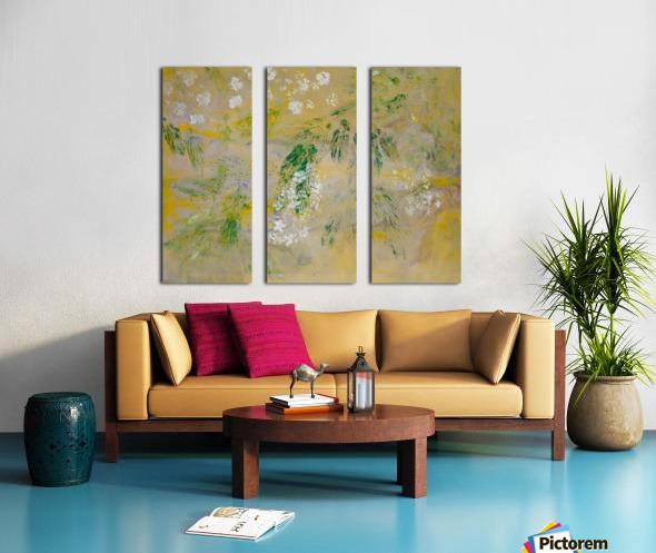Impressions of Hydrangea II Split Canvas print
