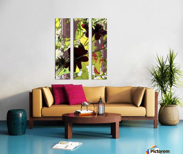 Mixed Floral Arrangement 200719 Split Canvas print