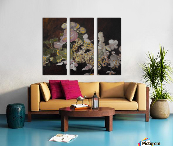 The Table Bouquet Split Canvas print