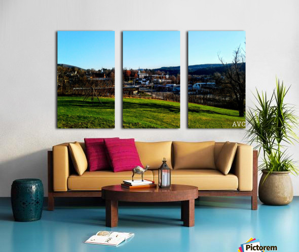 Northfield VT Split Canvas print