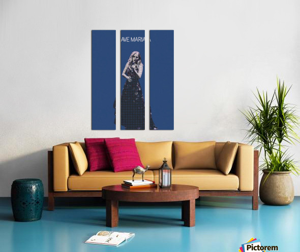 Ave Maria   Jackie Evancho Split Canvas print