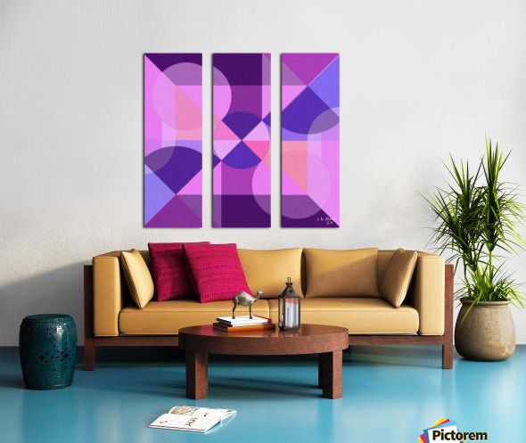 art abstra03 Split Canvas print