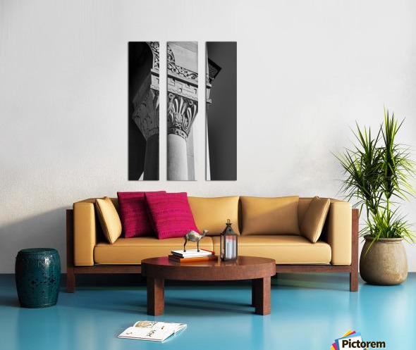 A Column for Lily Split Canvas print