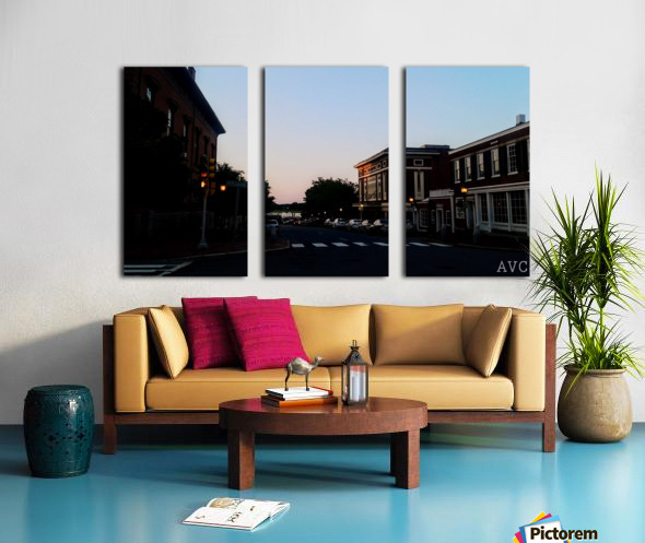 Corner of Pleasant Split Canvas print
