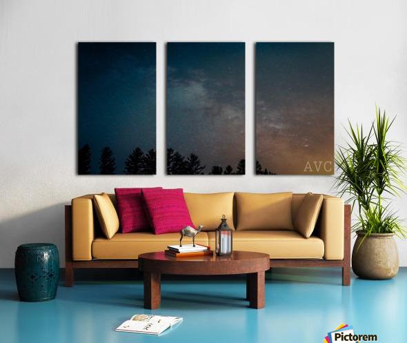 Goodnight Forest Split Canvas print