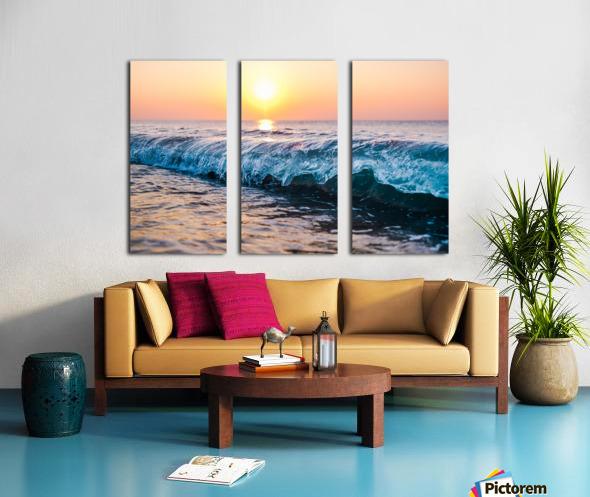 Morning Break Split Canvas print