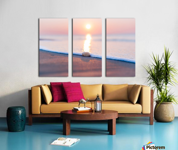 Touch of Light  Split Canvas print