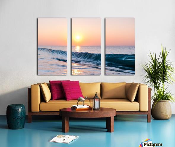 Smooth Wave  Split Canvas print