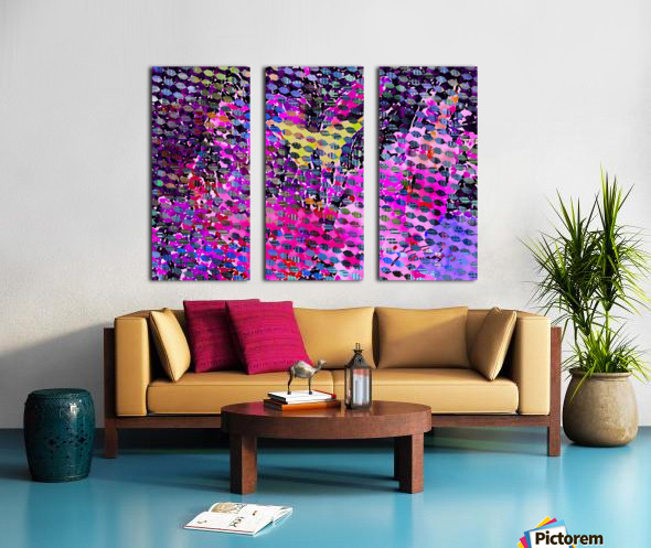 60C9C34D 7BFE 45E4 99BD EE56ADDB2355 Split Canvas print