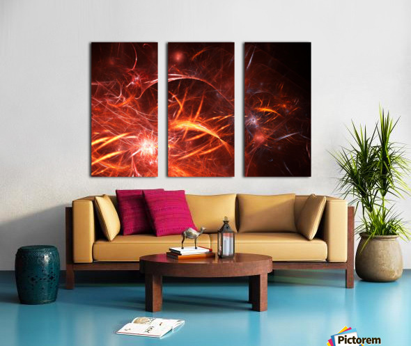 The Forge Split Canvas print