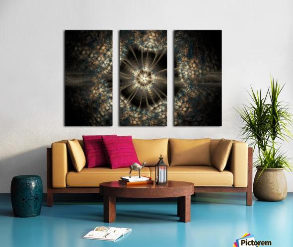 Blink Split Canvas print