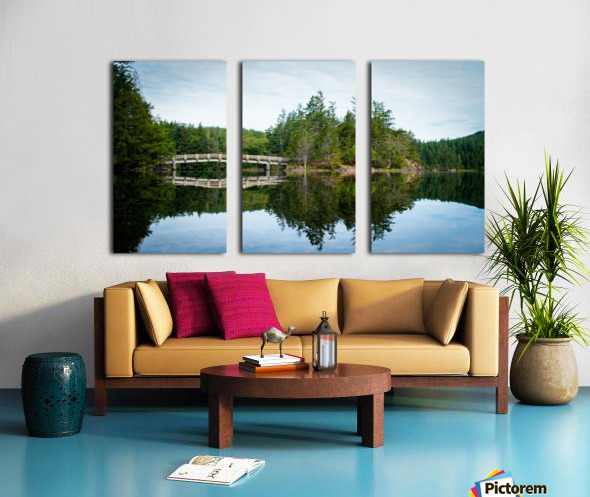 Beautiful Arch Bridge Split Canvas print