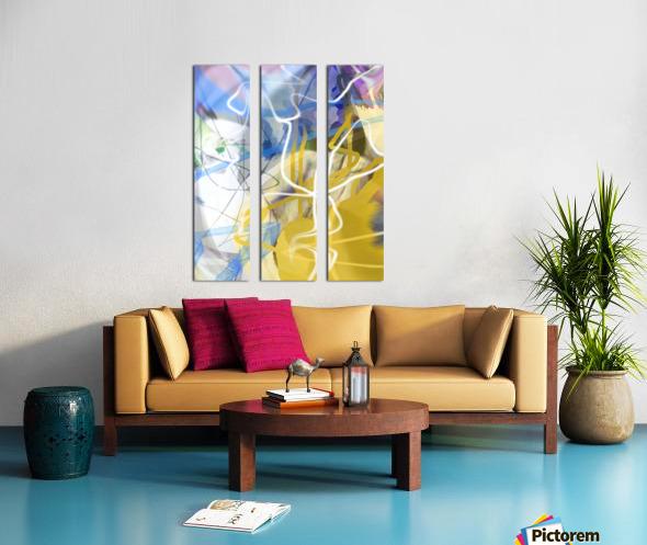 L O A Split Canvas print