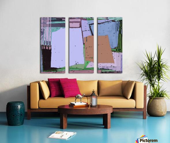 Urban Split Canvas print