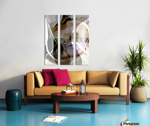 A M U Split Canvas print