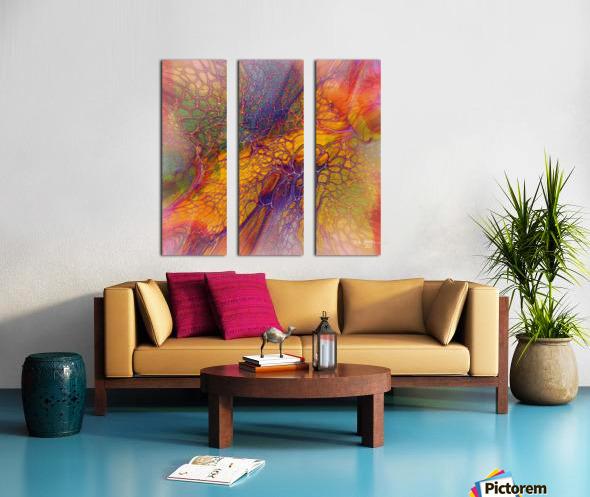 artabstract mix10 Split Canvas print