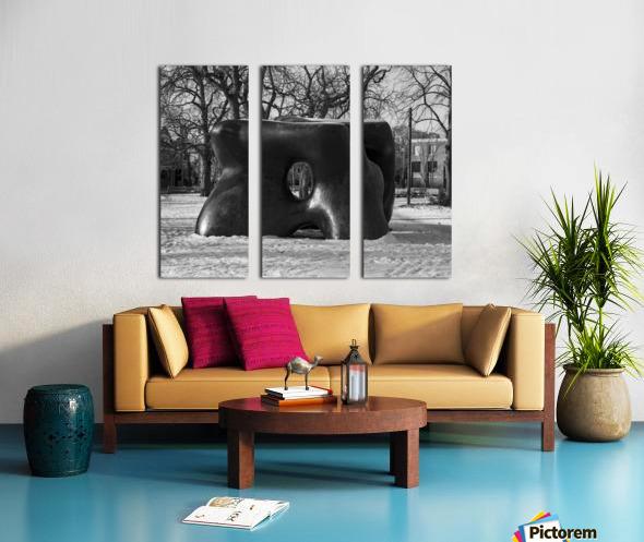 Two Large Forms at Grange Park 1 Split Canvas print