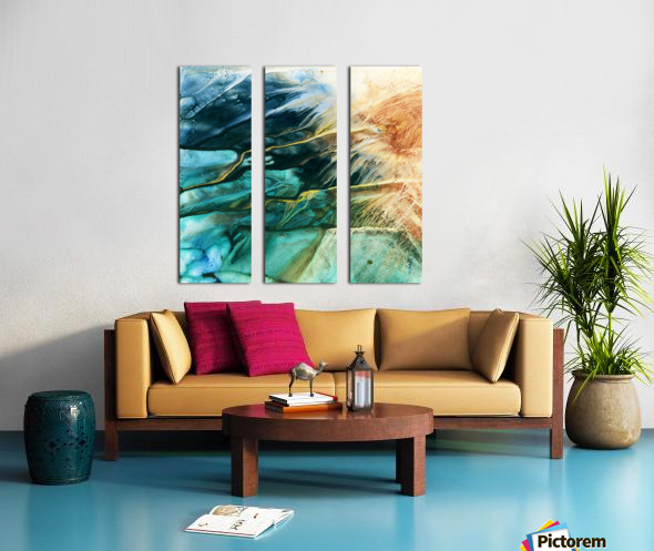 Prismatic Series Split Canvas print