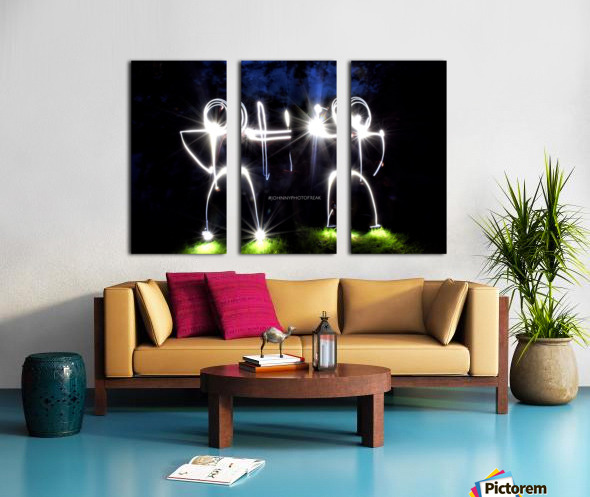 Stickman Bro  Split Canvas print