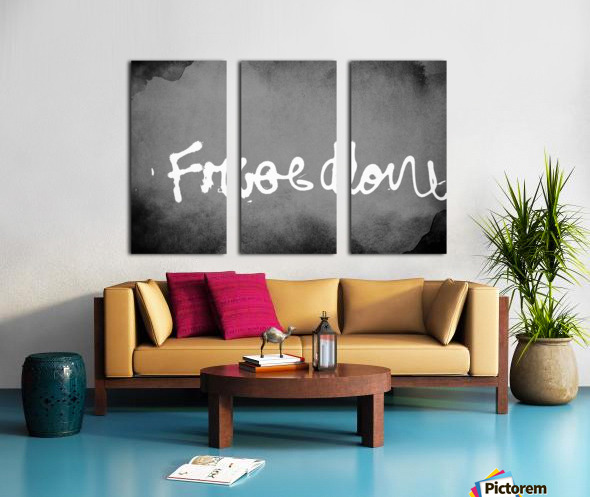 Freedom  Split Canvas print