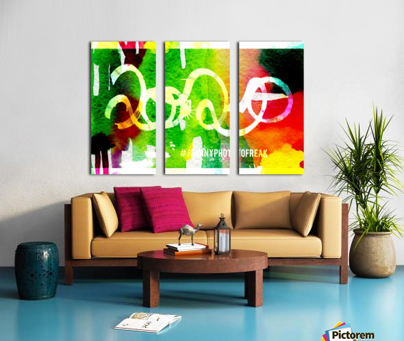 INKED 2020  Split Canvas print