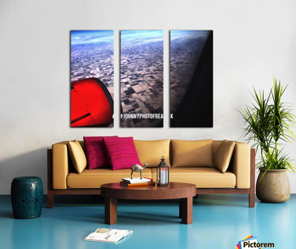 OUR WORLD Truman View Split Canvas print