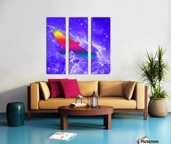 Eagle Star Split Canvas print