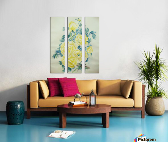Illusions Split Canvas print