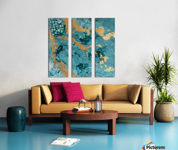 In the Midst Split Canvas print