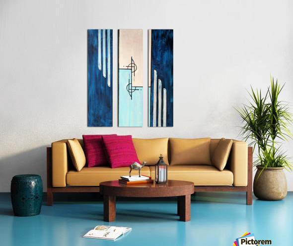 Moonshine XIV Split Canvas print