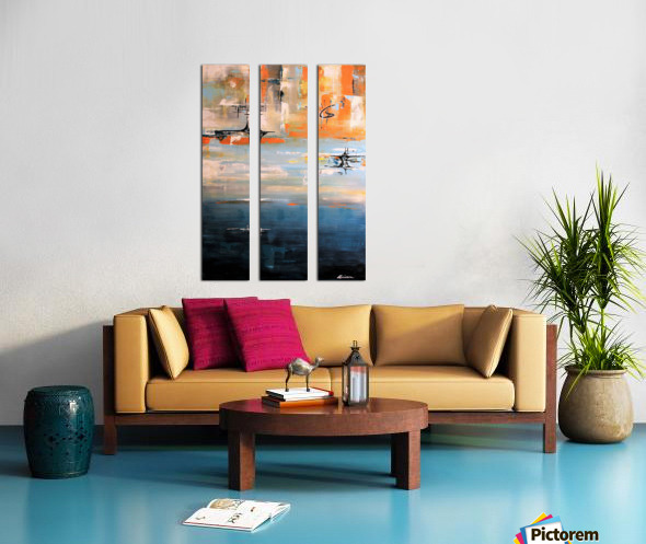 Its now or never IV Split Canvas print