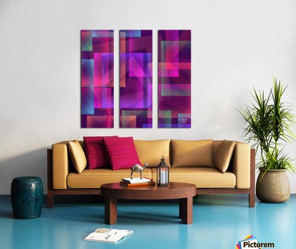 ART A MIX37 Split Canvas print