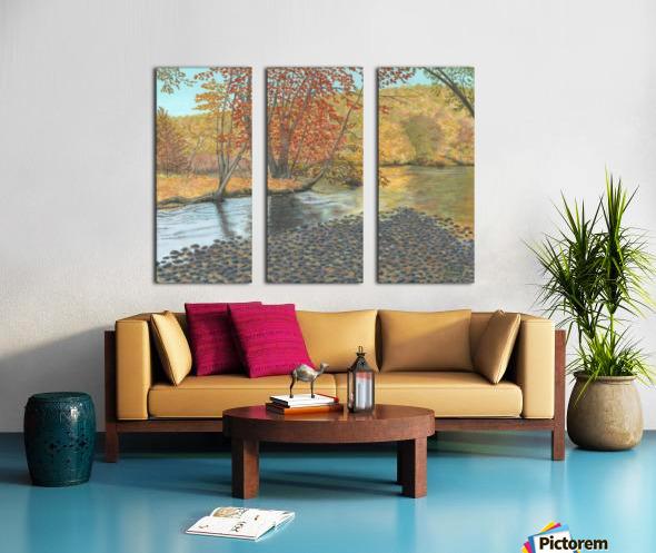 Two Rivers - Newtown Series 18X24 Split Canvas print