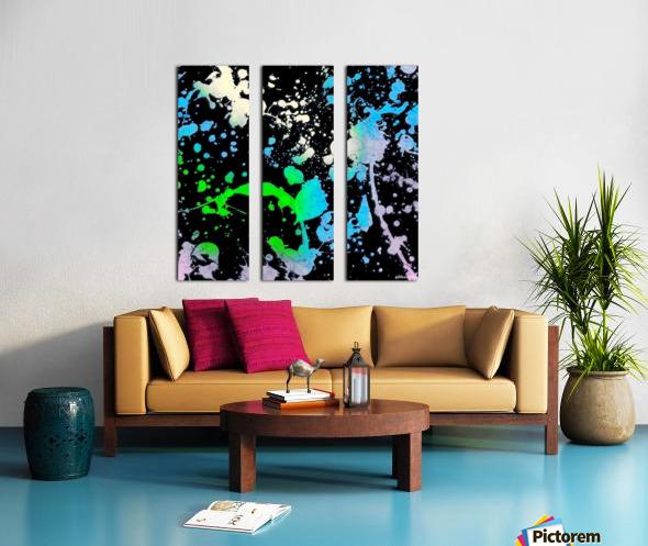 Elysium Split Canvas print