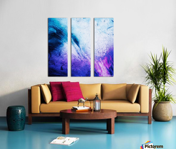 Spirix Split Canvas print