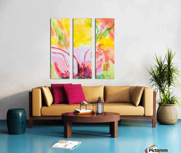 Flower 4  Split Canvas print