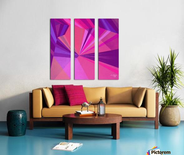 ABSRACT A MIX65 Split Canvas print