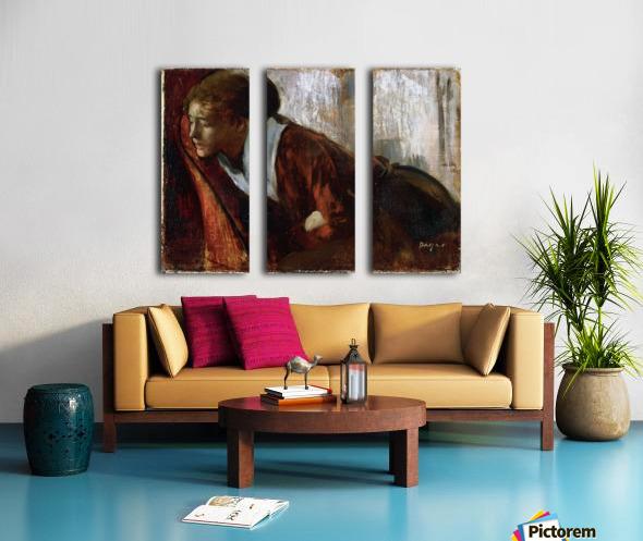 Melancholy by Degas Split Canvas print