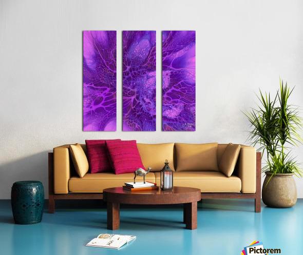 abstract b art17 Split Canvas print