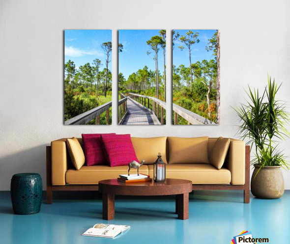Bridge Walk Split Canvas print