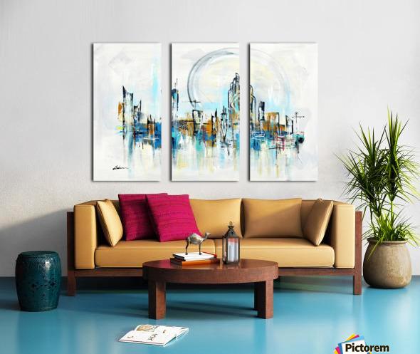 Uptown XXVI Split Canvas print