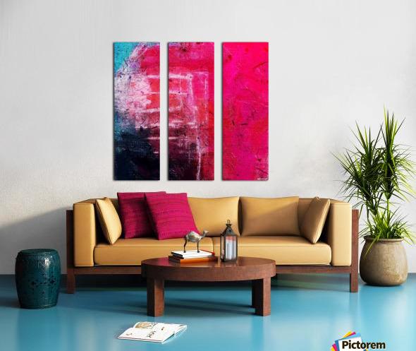 Prismo Split Canvas print