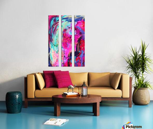 Well of Creativity Split Canvas print