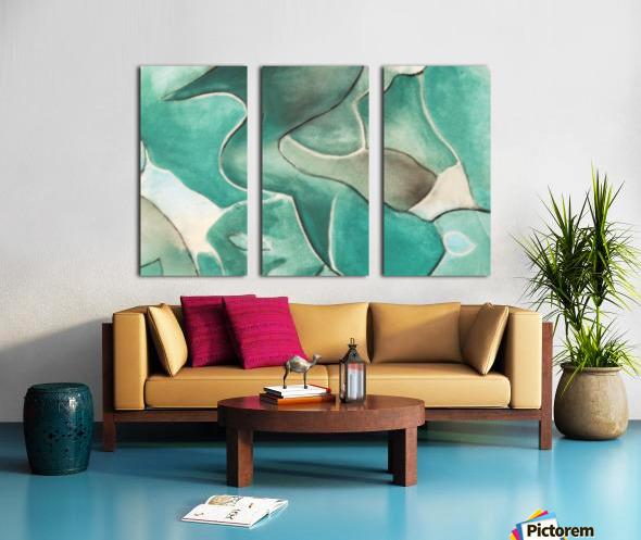 2020-15 Split Canvas print