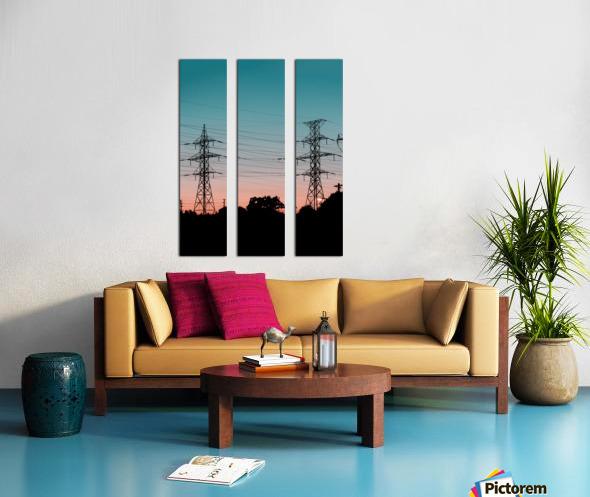 Abstract 2 Split Canvas print