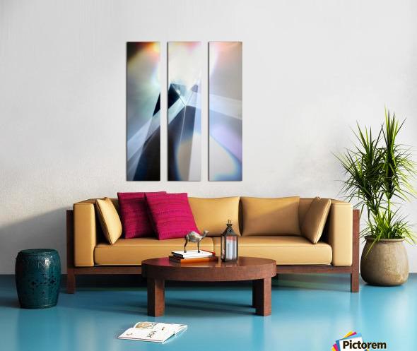 Abstract 1 Split Canvas print