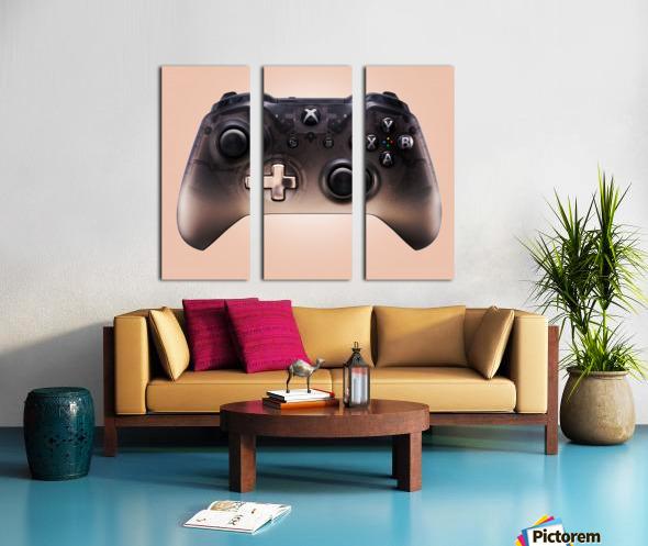 Gaming Controller v3 Split Canvas print