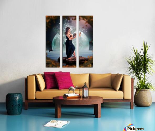 Fairy portrait Split Canvas print