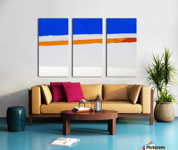 Boat -  XCV Split Canvas print