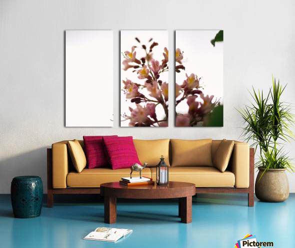 Wild Flowers 2 Split Canvas print